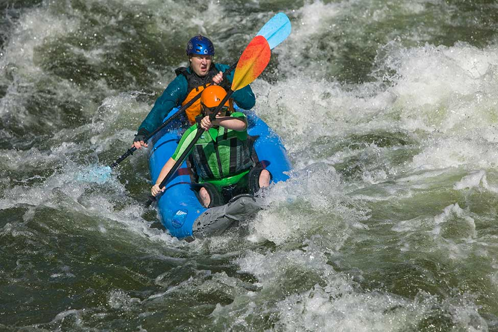 AIRE Inflatable Kayak - Payette River Idaho