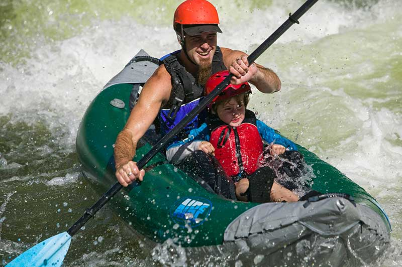 AIRE Inflatable Kayak Payette River Idaho